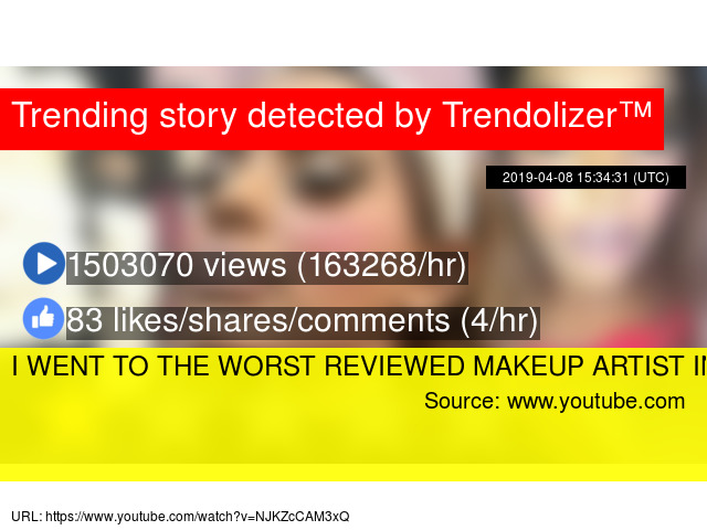 I WENT TO THE WORST REVIEWED MAKEUP ARTIST IN DUBAI