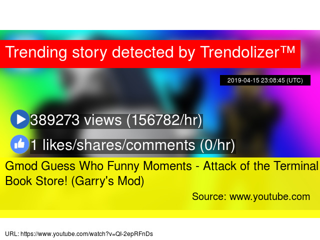 Gmod Guess Who Funny Moments - Attack of the Terminal Book Store