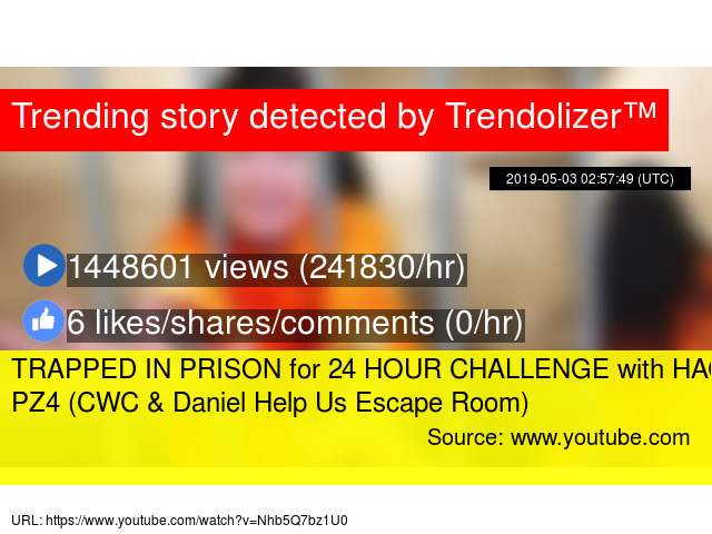 TRAPPED IN PRISON for 24 HOUR CHALLENGE with HACKER GIRL PZ4