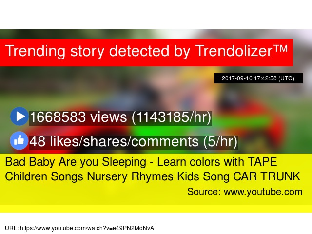 car rhymes for kids