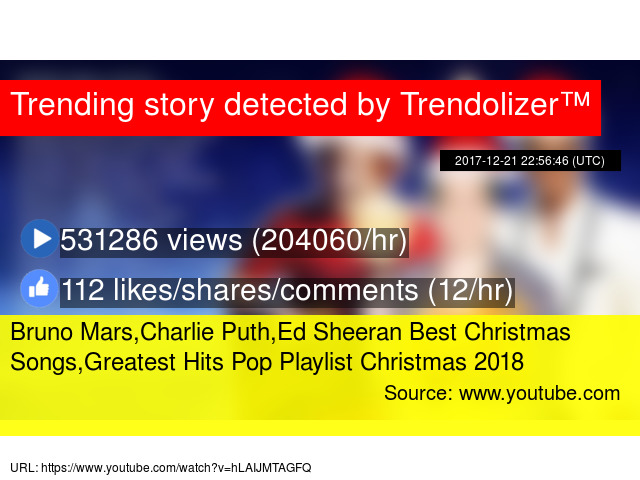 bruno marscharlie puthed sheeran best christmas songsgreatest hits pop playlist christmas 2018 - Best Christmas Songs Youtube