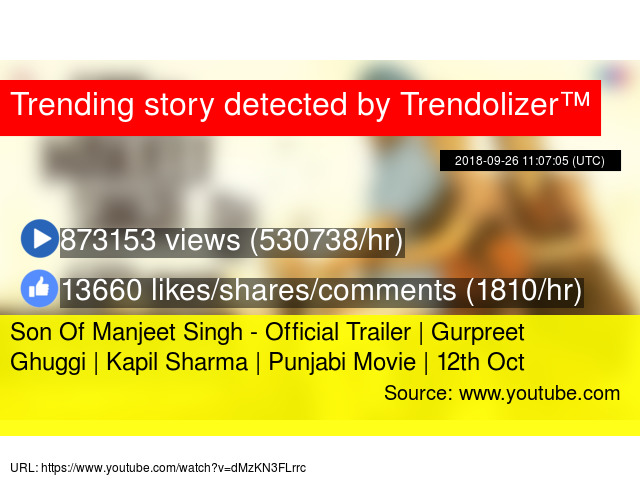 Son Of Manjeet Singh - Official Trailer | Gurpreet Ghuggi